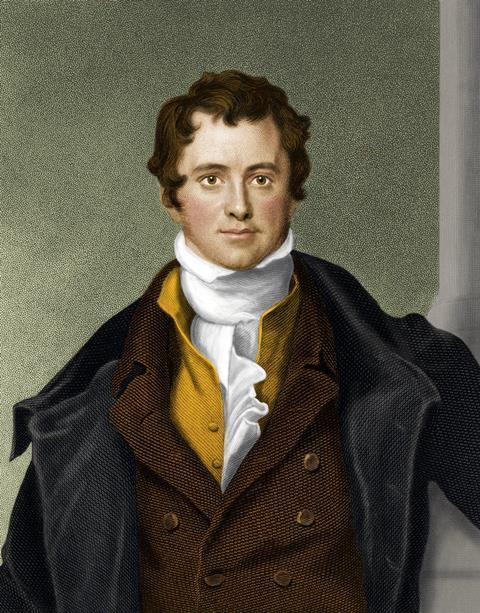 Humphry Davy, the first electric light inventor
